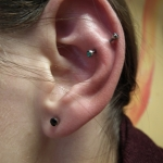 Piercing; Ohr; Anti Helix